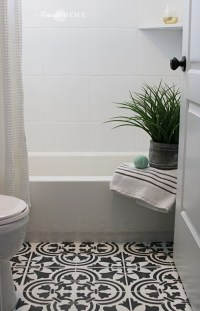 How To Paint Ceramic Tile In A Bathroom | Tile Design Ideas