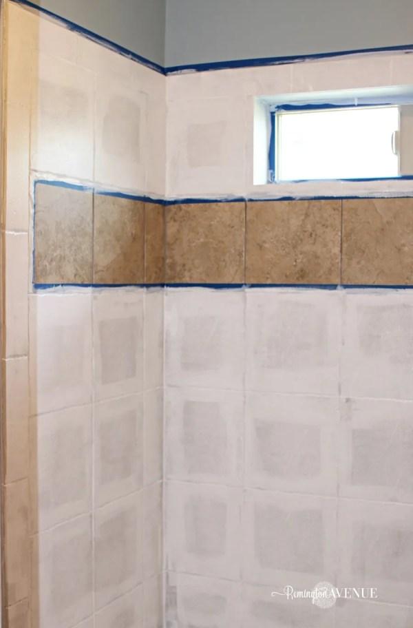 Paint On Bathroom Shower Tile