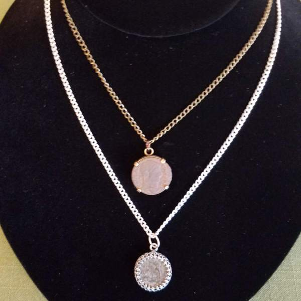 Roman Coin on Chain