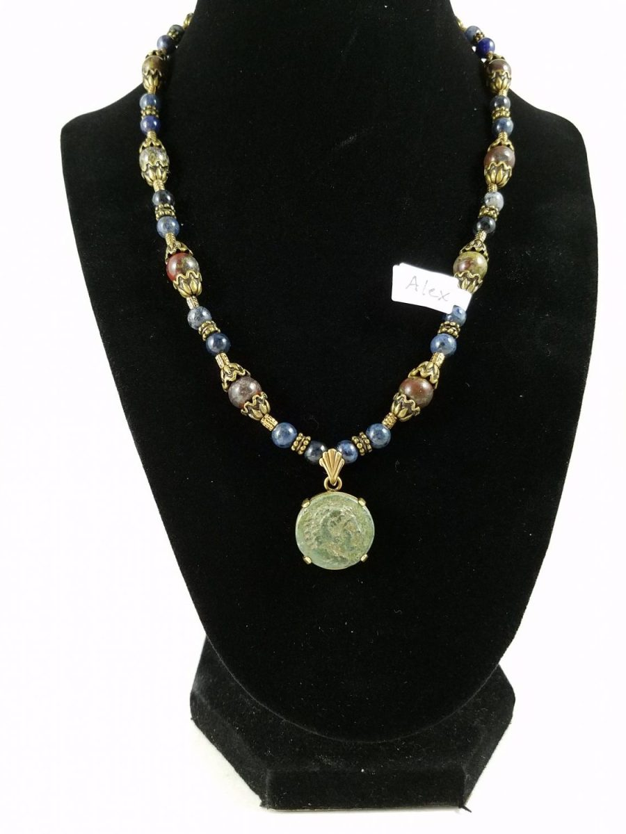 Necklace with Alexander the Great Coin