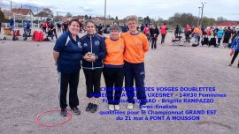 AVIERES 14-04-2018 DOUBLETTES DAMES N°1