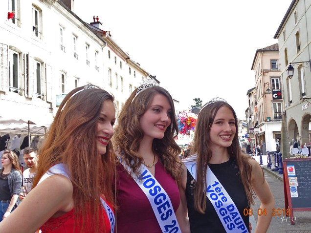 Miss Vosges inauguration Foire (2)