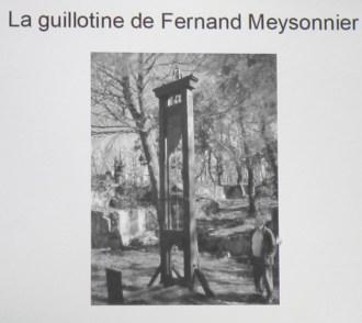 Conférence sur les criminels guillotinés (22)
