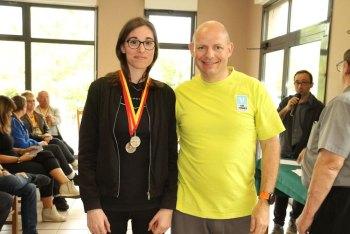 Laura au championnat de Lorraine 2019