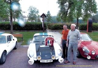 retrouvailles à Epinal en 2015 André n'avait plus jamais revu l'auto depuis 45 ans