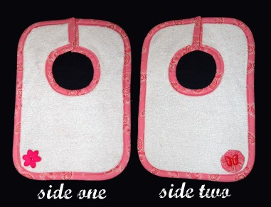 (SOLD) terry cloth reversible