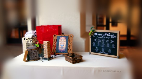 guest 'book' table