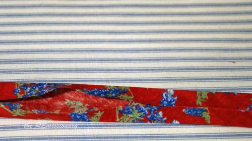 making binding from bluebells