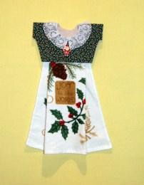 lacy collar for Christmas