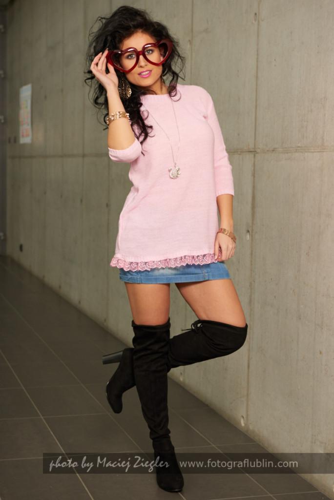 Zdjęcia do sklepu internetowego - zdjęcia z modelką