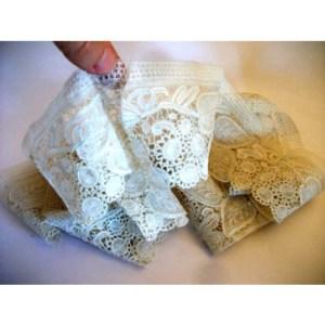 art deco lace - remix vintage fashion