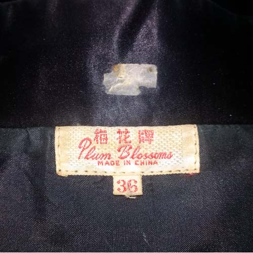 embroidered China jacket Plum Blossoms-the remix vintage fashion