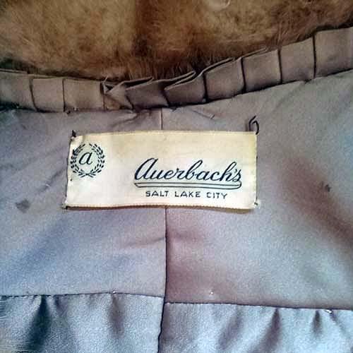 mink fur stole large collar pockets autumn haze 50s classic-the remix vintage fashion