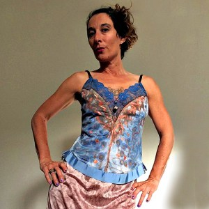 cami top blue copper artisanal fashion-the remix vintage fashion