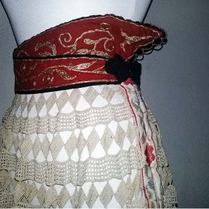 crochet circle skirt-the remix vintage fashion