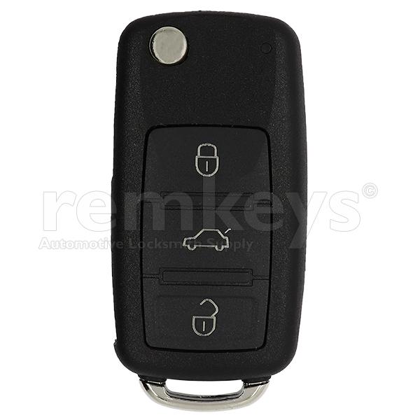 A8 3 Button flip Remote Case