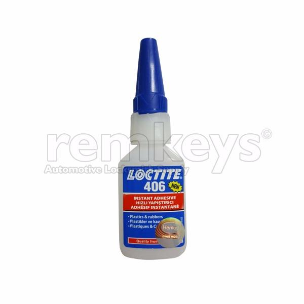 Loctite 406 - Instant Adhesive for Remote Keys Repair