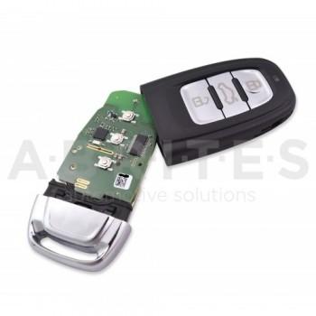 TA49 - ABRITES keyless key for Audi BCM2 vehicles (433 MHz)