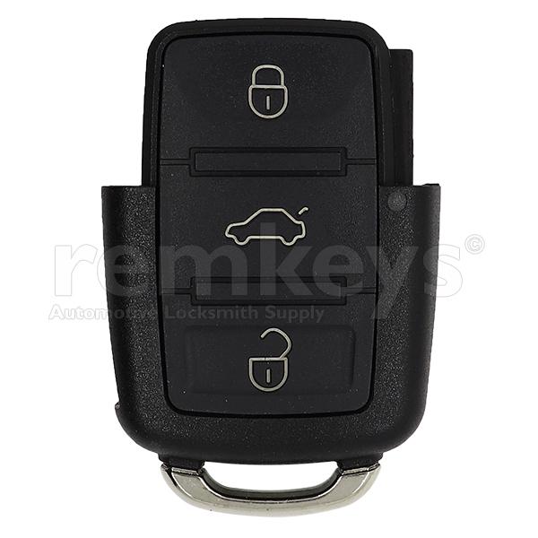 VAG 3 Button Remote Case - (VW-Skoda-Seat)
