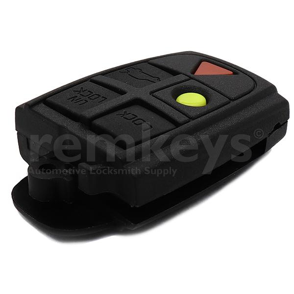 Volvo 5 Button Remote Head Case