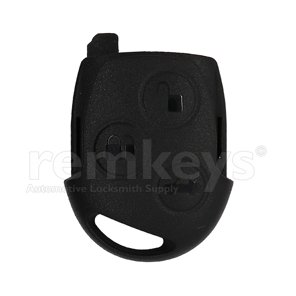 Ford 3Btn Black Remote Head 4D60 433mhz OEM