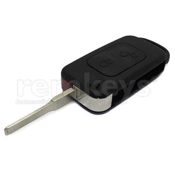 Mercedes 2 Button Flip Remote ID33 433mhz
