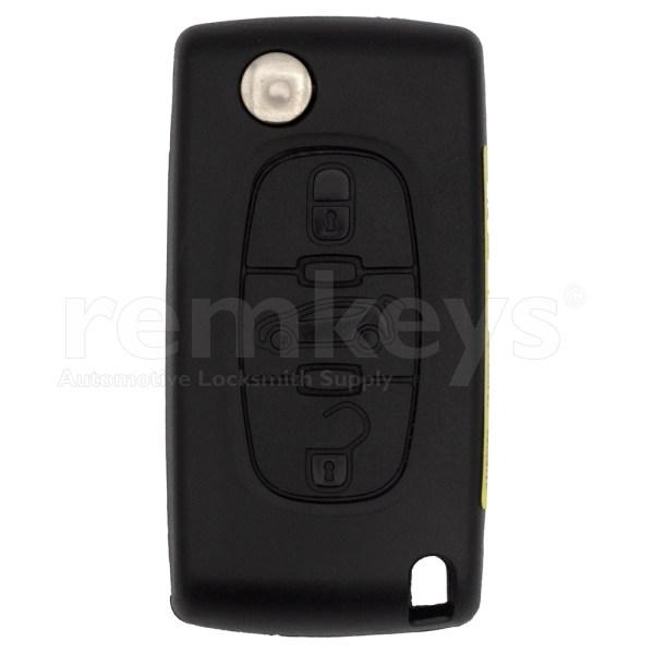 PSA 3 Button Flip Remote Case Oem