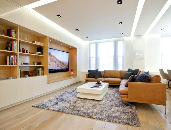 longue et moderne long tv armoires bon