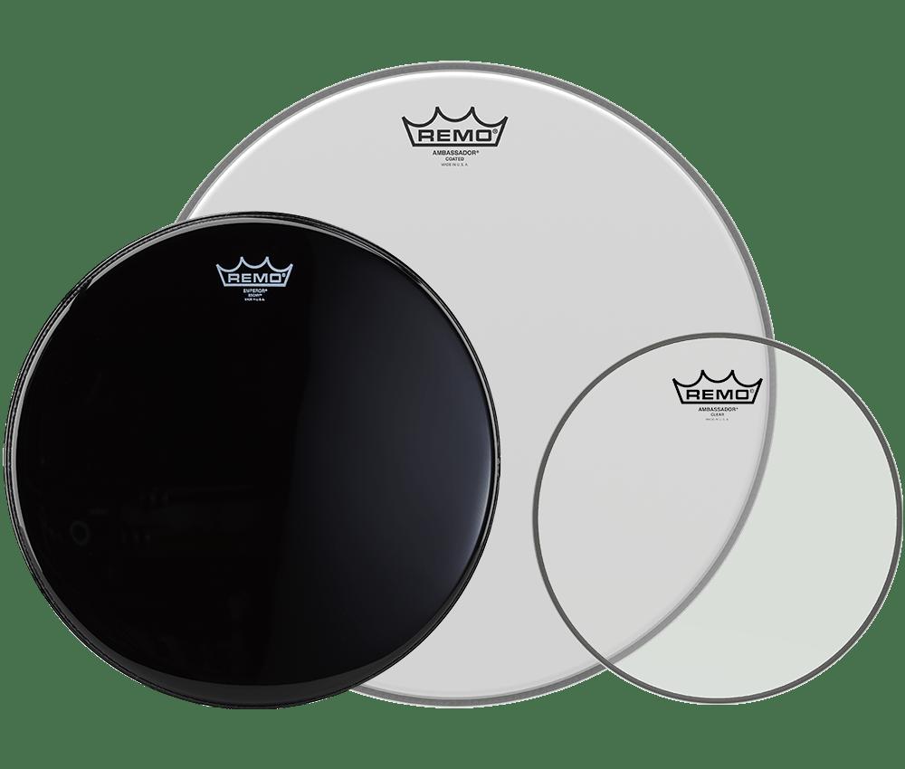 medium resolution of remo drumheads