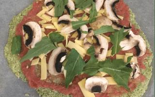 receta para pizza vegana