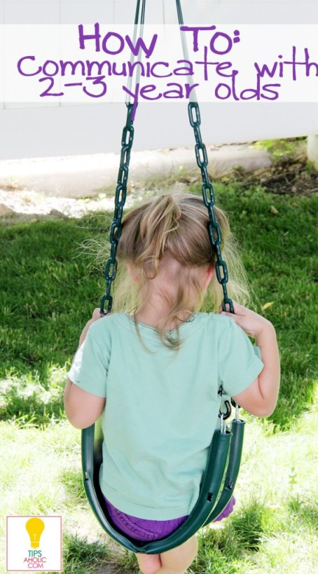help your 2 to 3 year old listen
