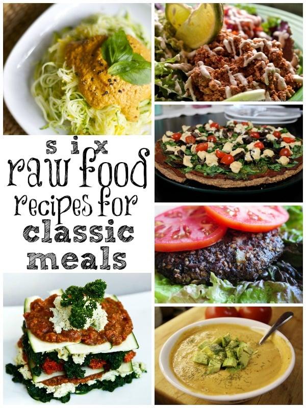 Remodelaholic 6 Raw Food Recipe Classics Your Favorite