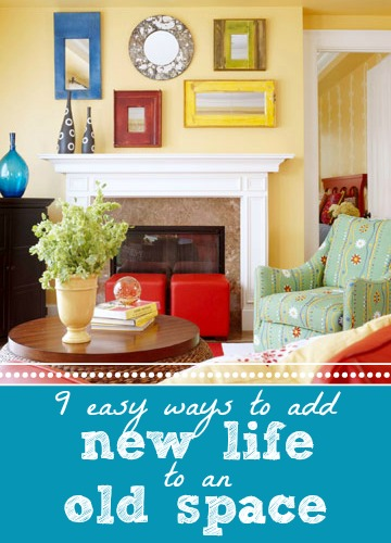 Add New Life To An Old Space via Tipsaholic.com