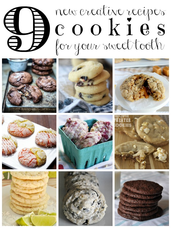 9 Creative Cookie Recipes via Tipsaholic.com #baking #cookies #newrecipe #yum