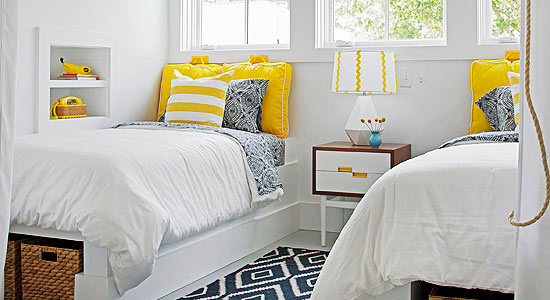 Remodelaholic  Get This Look Sunny Shared Bedroom for