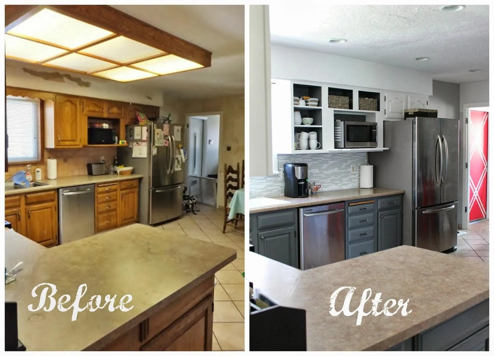 Enjoyable Kitchen Makeovers In Grey Download Free Architecture Designs Intelgarnamadebymaigaardcom