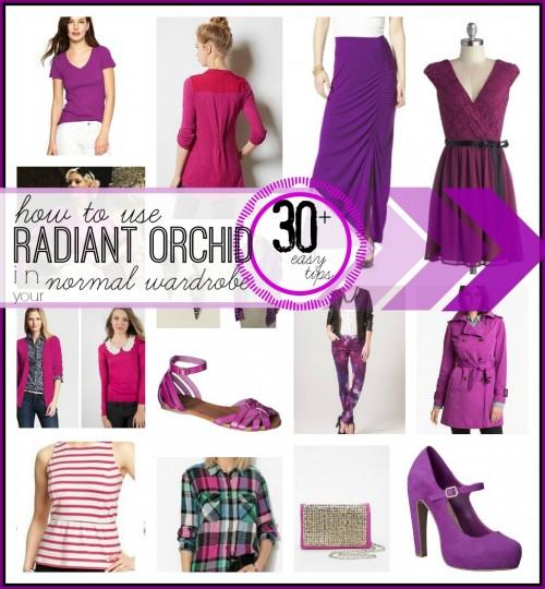 Radiant Orchid Fashion