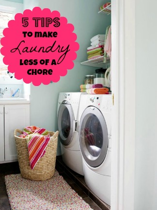 5 tips to make doing laundry less of a chore @ Tipsaholic