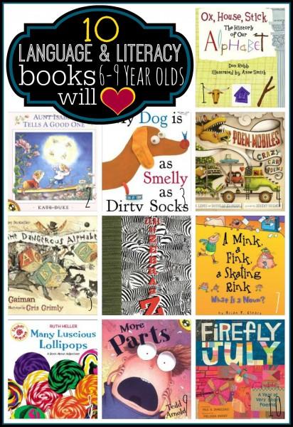 literacy books 6-9