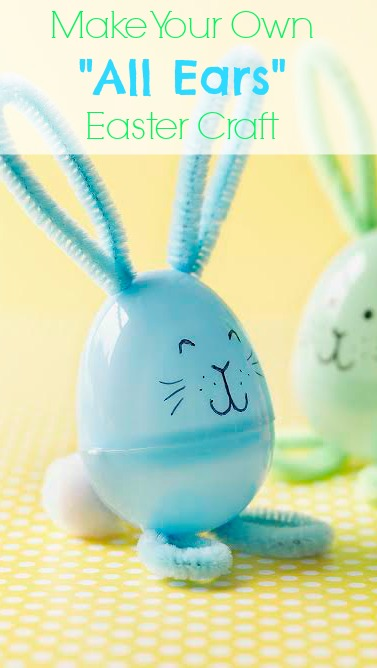 """Make Your Own """"All Ears"""" Easter Craft 