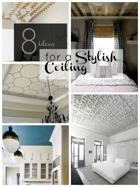 8 Ideas for a Stylish Ceiling | Tipsaholic.com #home #decor #remodel #ceiling