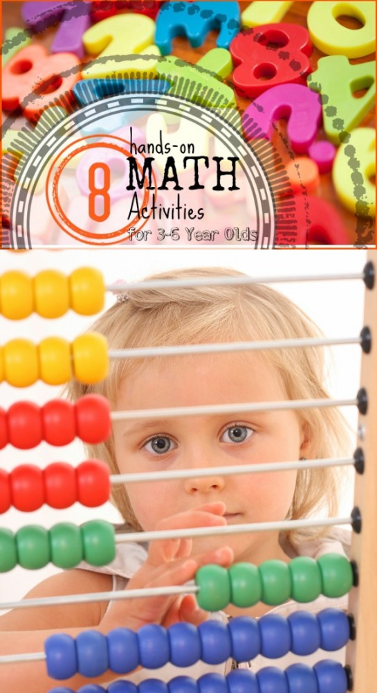 Hands-on Math for Toddlers and Preschoolers | Tipsaholic.com #education #math #kids #games #fun #learning