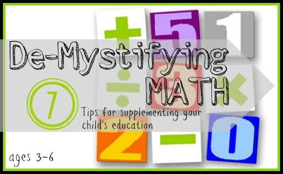 7 Tips for Supplementing your Child's Math Education (Age 3-6) | Tipsaholic.com #math #learning #education #kids #supplement