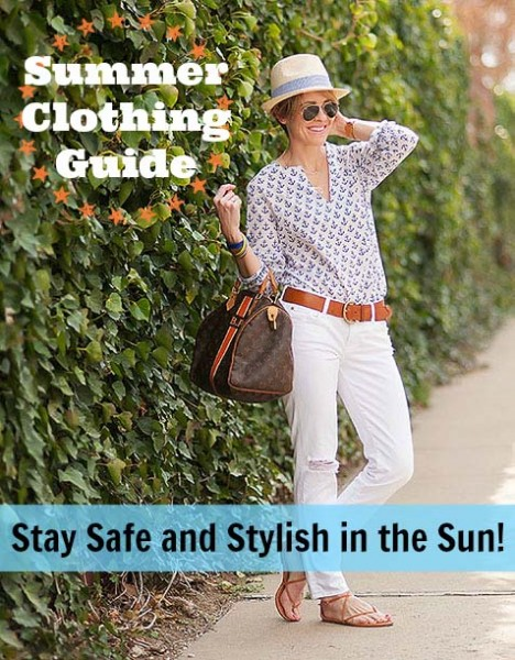 Summer clothing guide - stay safe and stylish in the sun! ~ Tipsaholic.com #summer #clothing