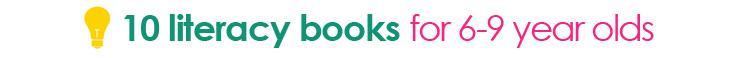 tipsaholic title divider - 10 literacy books