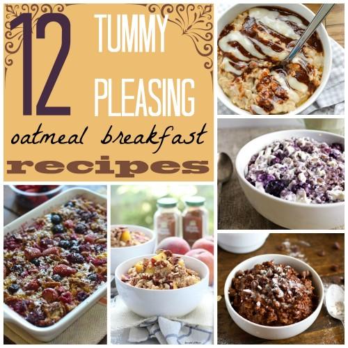 12 Tummy Pleasing Oatmeal Breakfast Recipes ~ Tipsaholic.com #oatmeal #breakfast #recipes