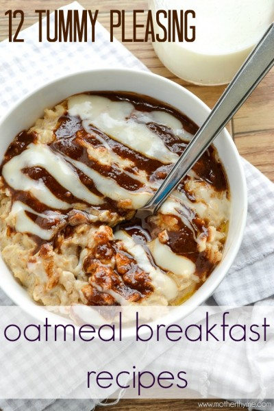 12 Tummy-Pleasing Oatmeal Breakfast Recipes ~ Tipsaholic.com #oatmeal #breakfast #recipes