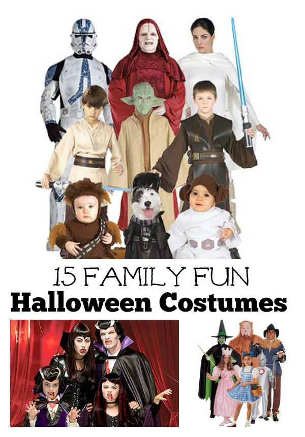Make Halloween a family affair this year. Dress up in a group themed costume. 15 Fun Family Halloween Costume Ideas Title  sc 1 st  Remodelaholic : family fun halloween costume ideas  - Germanpascual.Com