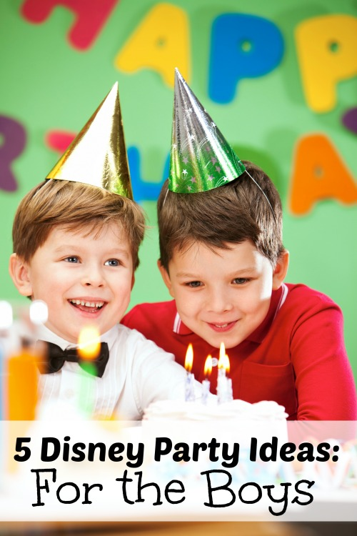 Your son (or daughter) is sure to love one of these Disney party ideas based on the following movies: Lion King, Planes, Wall-E, Cars, and Toy Story. 5 Disney Party Ideas: For the Boys via tipsaholic.com #disney #boys #birthday #party #disneyparty #parties
