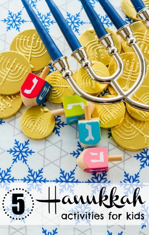 5 Fun Hanukkah Activities for Kids - Tipsaholic.com